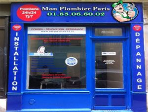 Boutique Plombier Paris